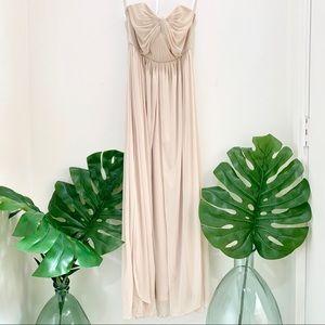 David's Bridal multi way formal dress